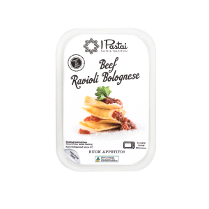 Beef Ravioli Bolognese